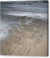 Stormy Skies Over The North Sea Canvas Print