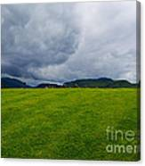 Stormy Sky Above Castlerigg Stone Circle Canvas Print