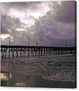 Stormy Sky In Myrtle Beach Canvas Print