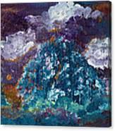 Stormy Sundown Canvas Print