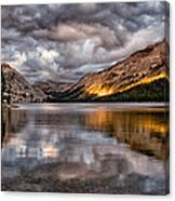 Stormy Sunset At Tenaya Canvas Print