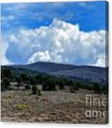 Stormy Wyoming Fall Canvas Print
