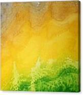 Stormy Mesa Original Painting Canvas Print