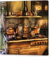 Stove - What's For Dinner Canvas Print