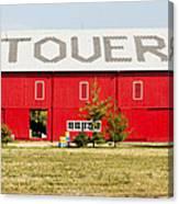 Stovers Farm Market Berrien Springs Michigan Usa Canvas Print