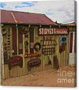 Stoves And Tinware Canvas Print