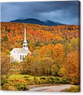 Stowe Church Canvas Print