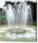 Stowe Fountain 3 Canvas Print