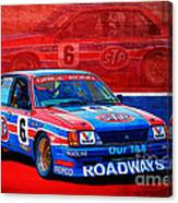 Stp Commodore Canvas Print