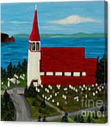 St.philip's Church 1999 Canvas Print