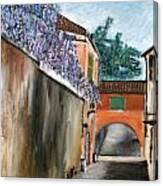 Strada Di Rivoli Canvas Print
