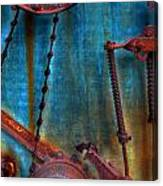 Strained Gears  Canvas Print
