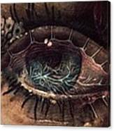 Strange Eye Canvas Print
