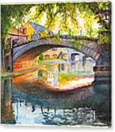 Strasbourg Autumn Evening Canvas Print