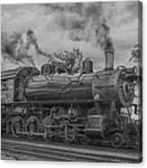 Strasburg Rail 475 In Hdr Canvas Print