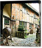 Stratford Back Alley Canvas Print