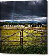 Strathspey Railway Canvas Print