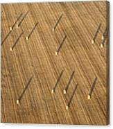 Straw Bales, Chenevelles Canvas Print