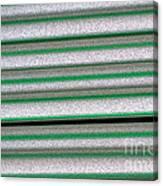 Straw Green Canvas Print