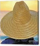 Straw Hat Canvas Print
