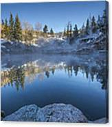 Strawberry Hot Springs Canvas Print