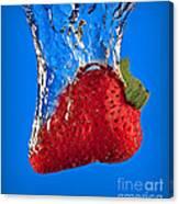 Strawberry Slam Dunk Canvas Print