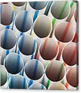 Straws 1 Canvas Print