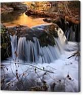 Stream Cascade Canvas Print