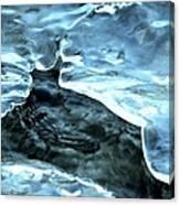 Stream Hole Canvas Print