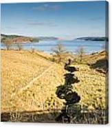 Stream To Kielder Water Canvas Print
