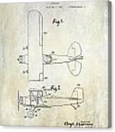 1929 Stearman Patent Drawing Canvas Print