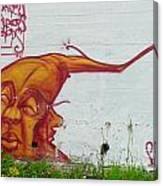 Street Art 4 Canvas Print