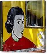 Street Art Valparaiso Chile 7 Canvas Print