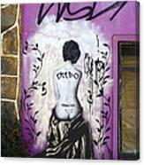 Street Art Valparaiso Chile 8 Canvas Print