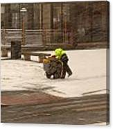 Street Cleaner Canvas Print