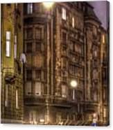 Street Corner Budapest Canvas Print