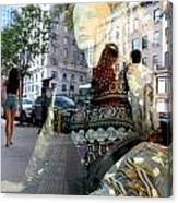 Street Fashion Canvas Print