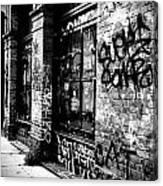 Street Graffiti Canvas Print