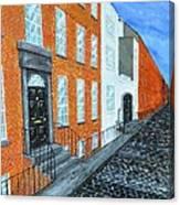 Street In Dublin Canvas Print