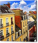Street In Rennes Canvas Print