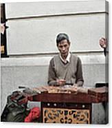 Street Jams Chinatown New York City Canvas Print