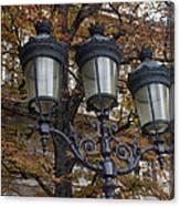 Street Lamps Canvas Print
