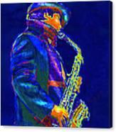 Street Music Canvas Print