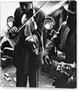 Street Musicians, 1935 Canvas Print