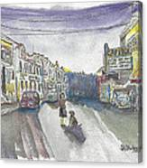 Street Scene - Capitol Theatre Canvas Print