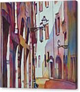 Street Scene Italy Canvas Print