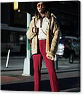 Street Style - New York City - February Canvas Print