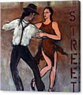 Tango Street Canvas Print