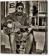 Street Tunes Canvas Print