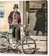Street Vendor Canvas Print